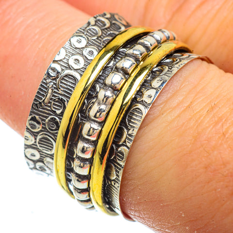 Meditation Spinner Rings handcrafted by Ana Silver Co - RING41673