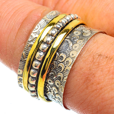 Meditation Spinner Rings handcrafted by Ana Silver Co - RING41707