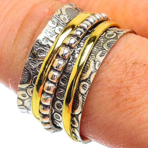 Meditation Spinner Rings handcrafted by Ana Silver Co - RING41803