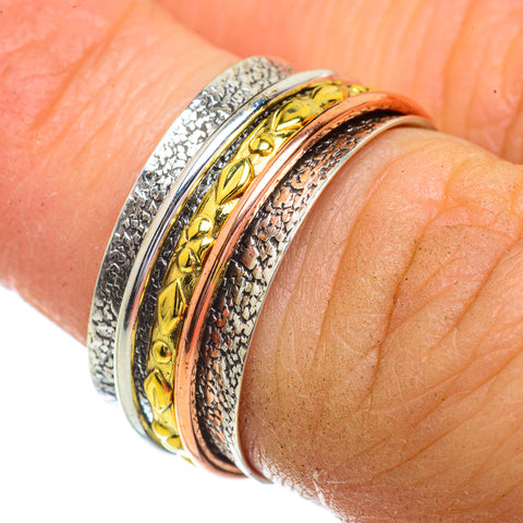 Meditation Spinner Rings handcrafted by Ana Silver Co - RING41863