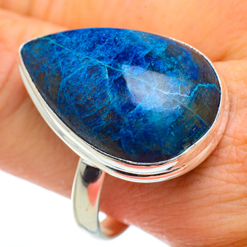 Shattuckite Rings handcrafted by Ana Silver Co - RING41879