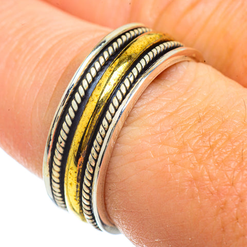 Meditation Spinner Rings handcrafted by Ana Silver Co - RING42040