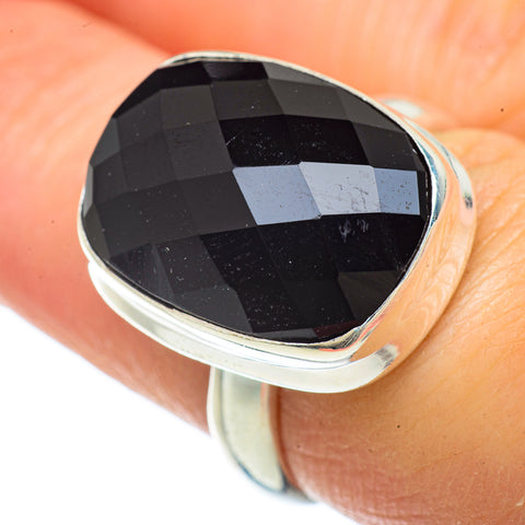 Black Onyx Rings handcrafted by Ana Silver Co - RING42041