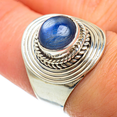 Kyanite Rings handcrafted by Ana Silver Co - RING42119
