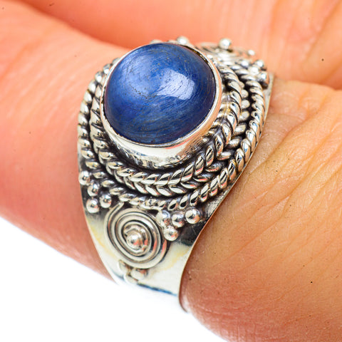 Kyanite Rings handcrafted by Ana Silver Co - RING42153