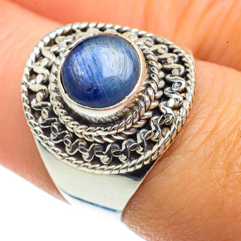 Kyanite Rings handcrafted by Ana Silver Co - RING42183