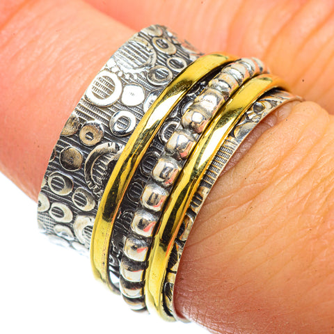 Meditation Spinner Rings handcrafted by Ana Silver Co - RING42231