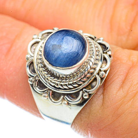 Kyanite Rings handcrafted by Ana Silver Co - RING42457