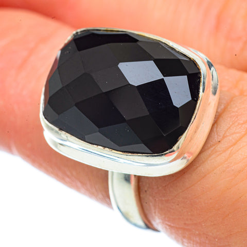 Black Onyx Rings handcrafted by Ana Silver Co - RING42478