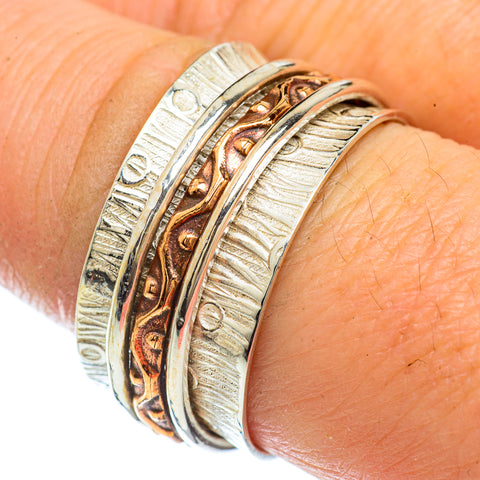 Meditation Spinner Rings handcrafted by Ana Silver Co - RING42535