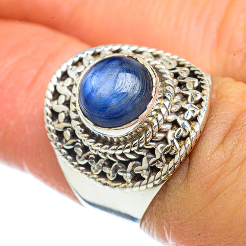 Kyanite Rings handcrafted by Ana Silver Co - RING42651