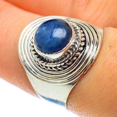 Kyanite Rings handcrafted by Ana Silver Co - RING42790