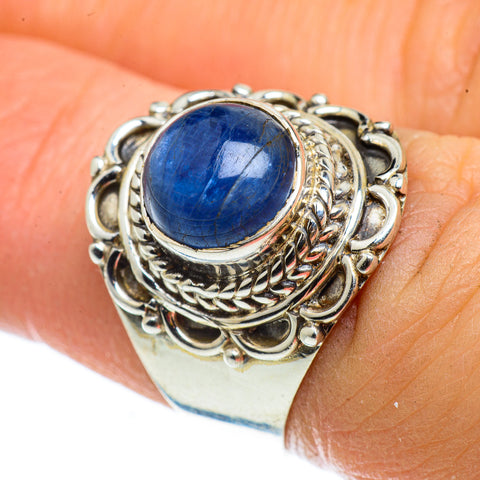 Kyanite Rings handcrafted by Ana Silver Co - RING42821