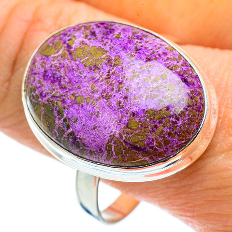 Stichtite Rings handcrafted by Ana Silver Co - RING42943