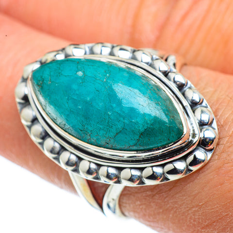 Amazonite Rings handcrafted by Ana Silver Co - RING43256