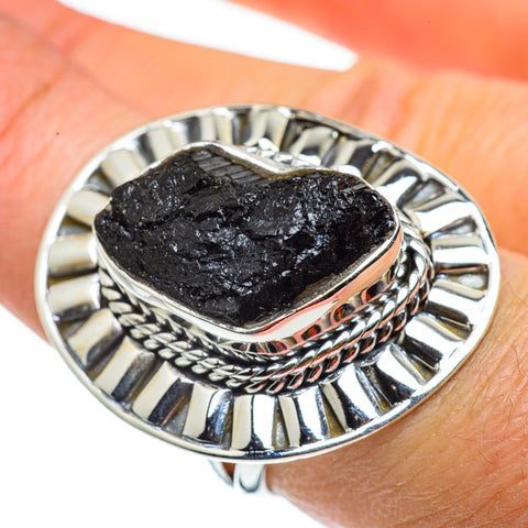 Tektite Rings handcrafted by Ana Silver Co - RING43368