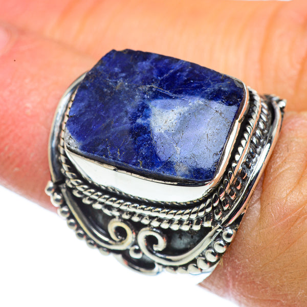 Sodalite Rings handcrafted by Ana Silver Co - RING43519