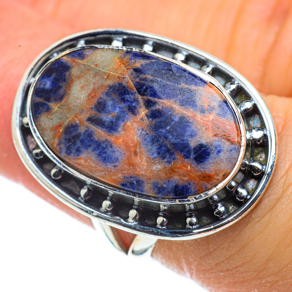 Sodalite Rings handcrafted by Ana Silver Co - RING43666