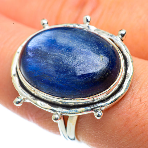 Kyanite Rings handcrafted by Ana Silver Co - RING43671
