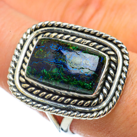 Azurite Rings handcrafted by Ana Silver Co - RING43731