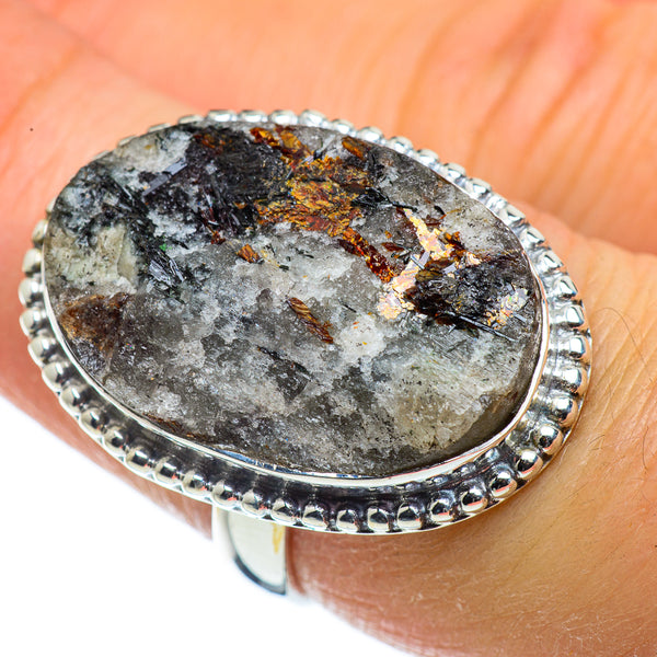 Astrophyllite Rings handcrafted by Ana Silver Co - RING43738