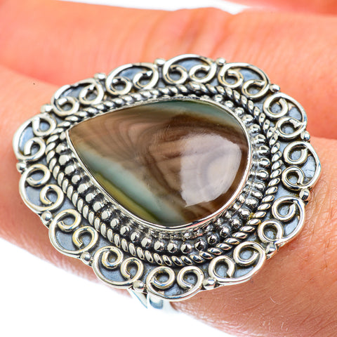 Willow Creek Jasper Rings handcrafted by Ana Silver Co - RING43813