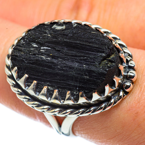 Tektite Rings handcrafted by Ana Silver Co - RING43826