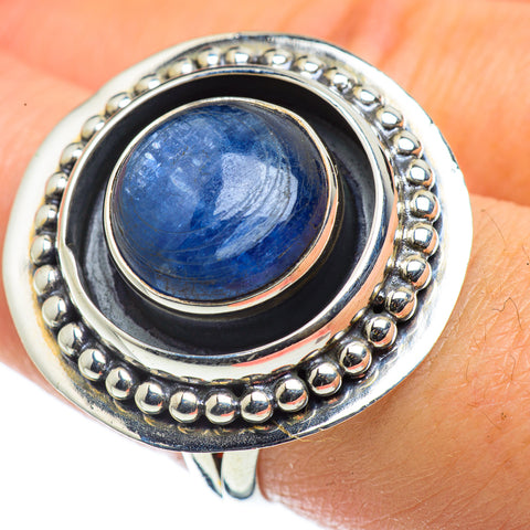 Kyanite Rings handcrafted by Ana Silver Co - RING43871