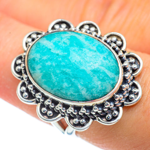 Amazonite Rings handcrafted by Ana Silver Co - RING43895