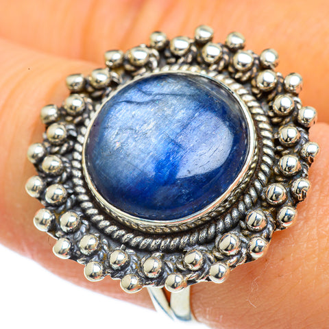 Kyanite Rings handcrafted by Ana Silver Co - RING43920