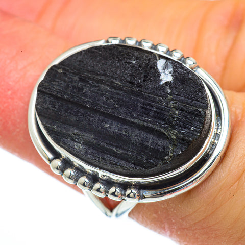 Tektite Rings handcrafted by Ana Silver Co - RING43938