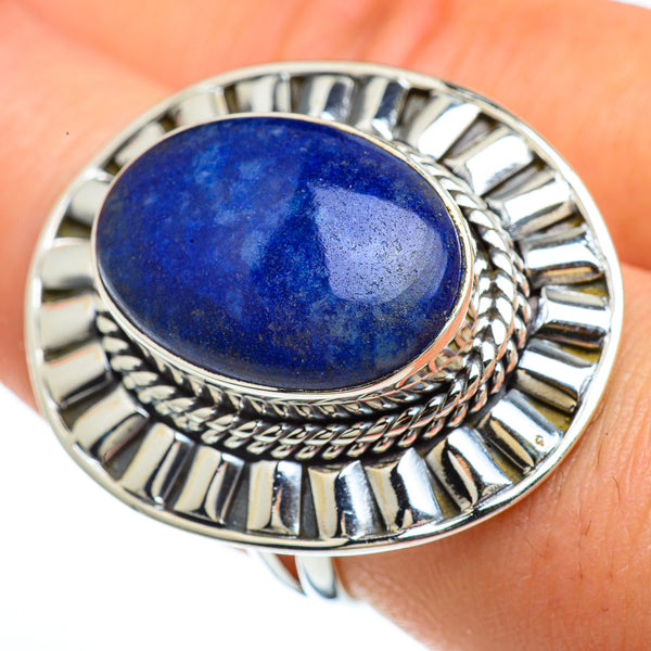Sodalite Rings handcrafted by Ana Silver Co - RING44121