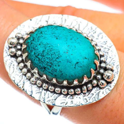 Chrysocolla Rings handcrafted by Ana Silver Co - RING44125