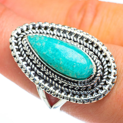 Amazonite Rings handcrafted by Ana Silver Co - RING44244