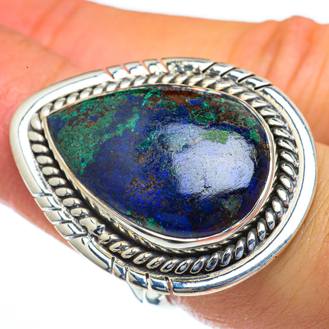 Chrysocolla Rings handcrafted by Ana Silver Co - RING44262