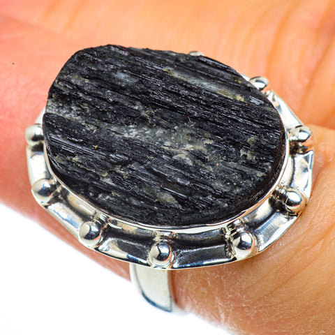 Tektite Rings handcrafted by Ana Silver Co - RING44308
