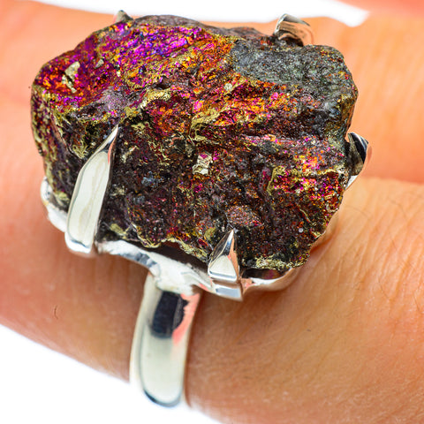 Titanium Druzy Rings handcrafted by Ana Silver Co - RING44342