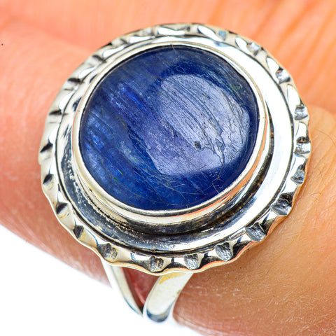 Kyanite Rings handcrafted by Ana Silver Co - RING44348