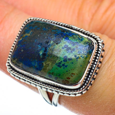 Azurite Rings handcrafted by Ana Silver Co - RING44400