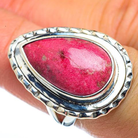 Thulite Rings handcrafted by Ana Silver Co - RING44565