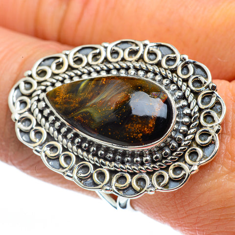Pietersite Rings handcrafted by Ana Silver Co - RING44617