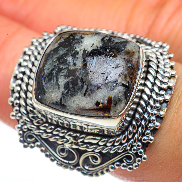 Astrophyllite Rings handcrafted by Ana Silver Co - RING44619