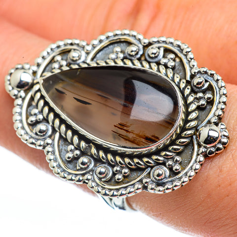 Montana Agate Rings handcrafted by Ana Silver Co - RING44686