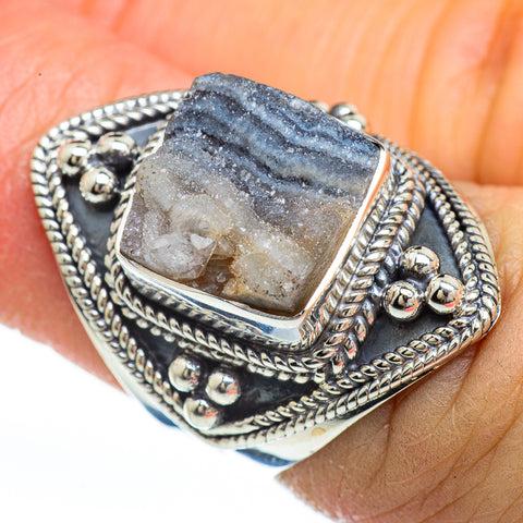 Desert Druzy Rings handcrafted by Ana Silver Co - RING44739