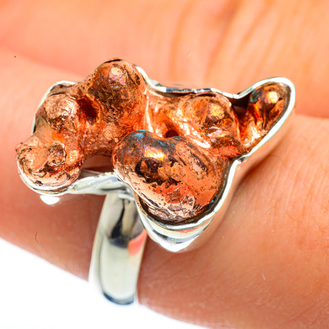Splash Copper Rings handcrafted by Ana Silver Co - RING44759