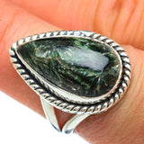 Seraphinite Rings handcrafted by Ana Silver Co - RING44906