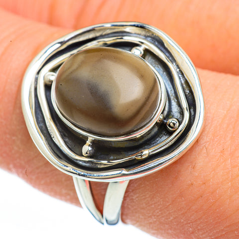 Willow Creek Jasper Rings handcrafted by Ana Silver Co - RING44944