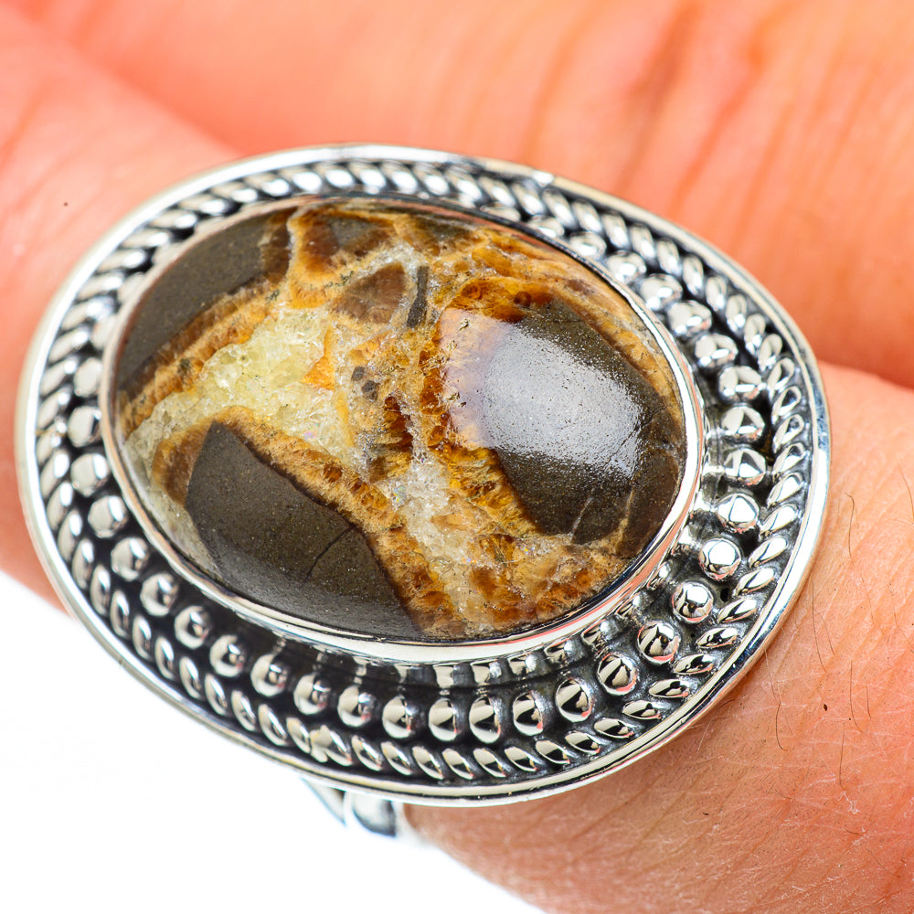 Muscovite Rings handcrafted by Ana Silver Co - RING45012