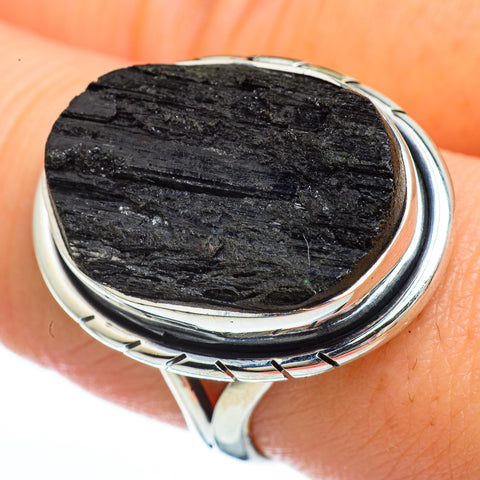 Tektite Rings handcrafted by Ana Silver Co - RING45107