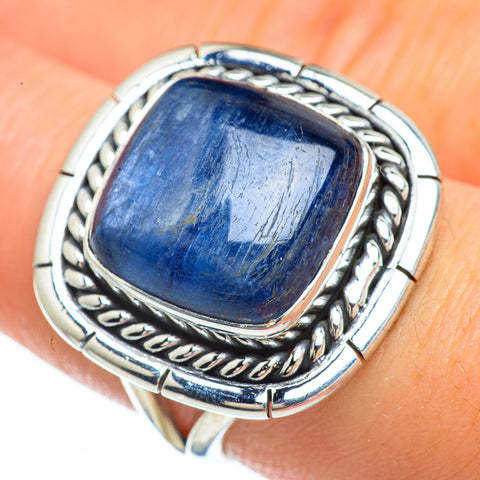 Kyanite Rings handcrafted by Ana Silver Co - RING45117